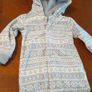 Carter's baby boy fleece outfit